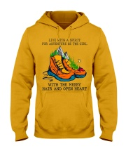 Live With A Spirit Hooded Sweatshirt front