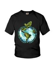 Be Came A Teacher Youth T-Shirt thumbnail