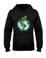 Be Came A Teacher Hooded Sweatshirt thumbnail