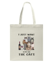 Pet All The Cats Tote Bag thumbnail