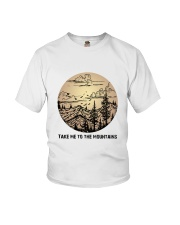 Take Me To The Mountains Youth T-Shirt thumbnail