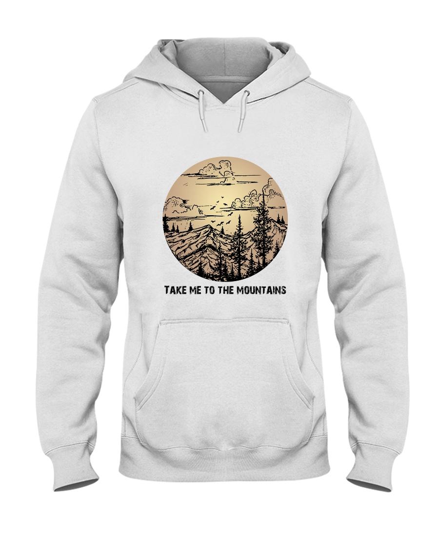 Take Me To The Mountains Hooded Sweatshirt