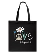 Dog Mom Life Tote Bag thumbnail