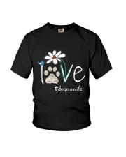 Dog Mom Life Youth T-Shirt thumbnail