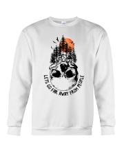 Lets Go Far Away From People Crewneck Sweatshirt thumbnail