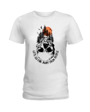 Lets Go Far Away From People Ladies T-Shirt thumbnail