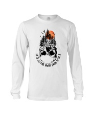 Lets Go Far Away From People Long Sleeve Tee thumbnail