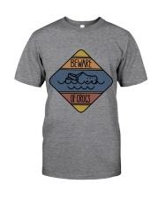 Beware Of Crocs Classic T-Shirt front