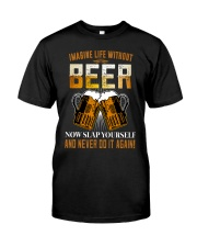 Imagine Life Without Beer Premium Fit Mens Tee thumbnail