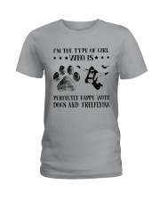 Dogs And Freeflying Ladies T-Shirt thumbnail