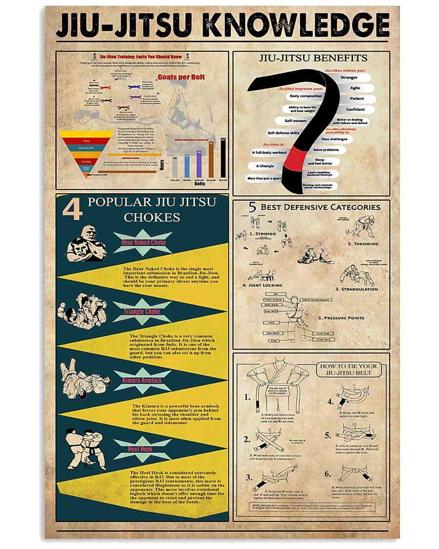 Jiu-jitsu Knowledge 11x17 Poster