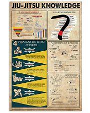 Jiu-jitsu Knowledge 11x17 Poster front