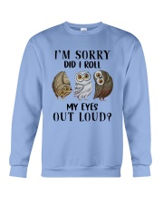My Eyes Out Loud Crewneck Sweatshirt thumbnail