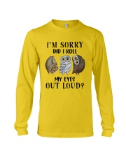 My Eyes Out Loud Long Sleeve Tee thumbnail