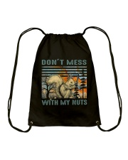 Don't Mess With My Nuts Drawstring Bag thumbnail
