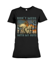 Don't Mess With My Nuts Premium Fit Ladies Tee thumbnail