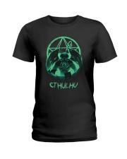 Cthulhu Mythos Ladies T-Shirt thumbnail