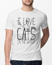 I Love All The Cats Classic T-Shirt lifestyle-mens-crewneck-front-13