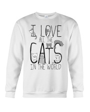 I Love All The Cats Crewneck Sweatshirt thumbnail