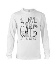 I Love All The Cats Long Sleeve Tee thumbnail
