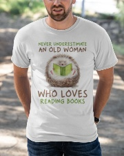 Who Loves Reading Books Classic T-Shirt apparel-classic-tshirt-lifestyle-front-50