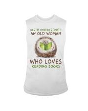 Who Loves Reading Books Sleeveless Tee thumbnail