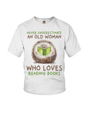 Who Loves Reading Books Youth T-Shirt thumbnail