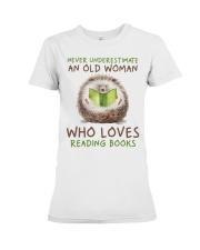 Who Loves Reading Books Premium Fit Ladies Tee thumbnail