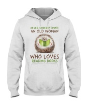 Who Loves Reading Books Hooded Sweatshirt thumbnail