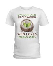 Who Loves Reading Books Ladies T-Shirt thumbnail