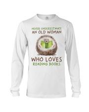 Who Loves Reading Books Long Sleeve Tee thumbnail