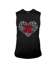 My Dog Is My Valentine Sleeveless Tee thumbnail