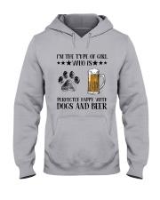 Dogs And Beer Hooded Sweatshirt thumbnail