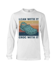 Lean With It Croc With It Long Sleeve Tee thumbnail