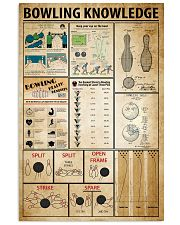 Bowling Knowledge 11x17 Poster front