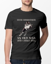 Never Underestimated Classic T-Shirt lifestyle-mens-crewneck-front-13
