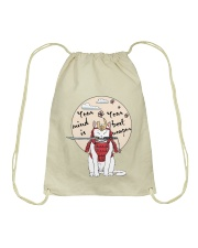 Your Best Weapon Drawstring Bag thumbnail