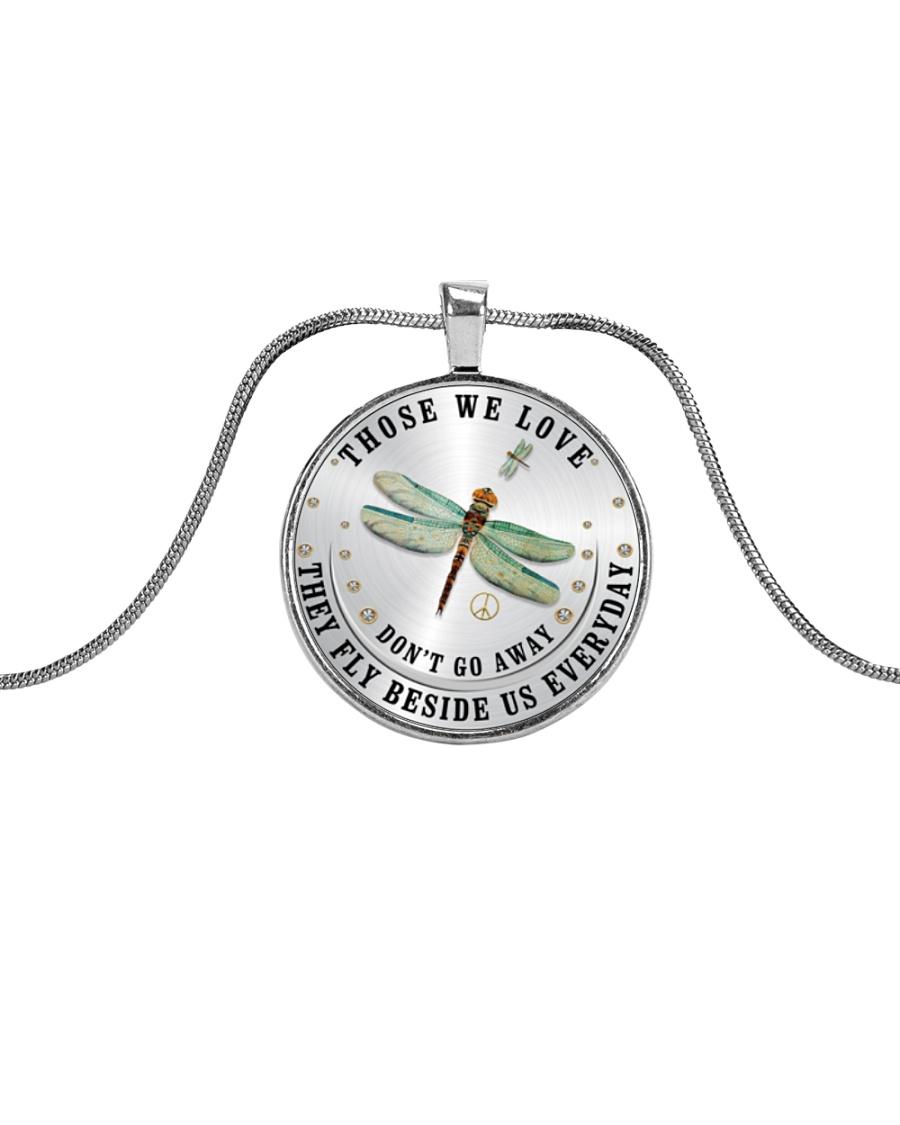 Those We Love Metallic Circle Necklace