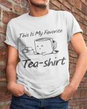 Tea Is My Favorite Classic T-Shirt apparel-classic-tshirt-lifestyle-26