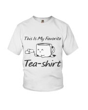 Tea Is My Favorite Youth T-Shirt thumbnail