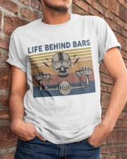 Life Behind Bars Classic T-Shirt apparel-classic-tshirt-lifestyle-26
