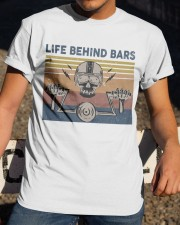 Life Behind Bars Classic T-Shirt apparel-classic-tshirt-lifestyle-28