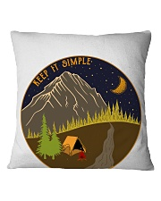 Keep It Simple 1 Square Pillowcase thumbnail