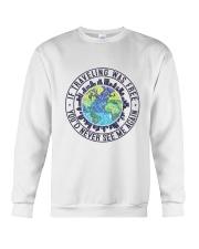 If Traveling Was Freedom Crewneck Sweatshirt thumbnail