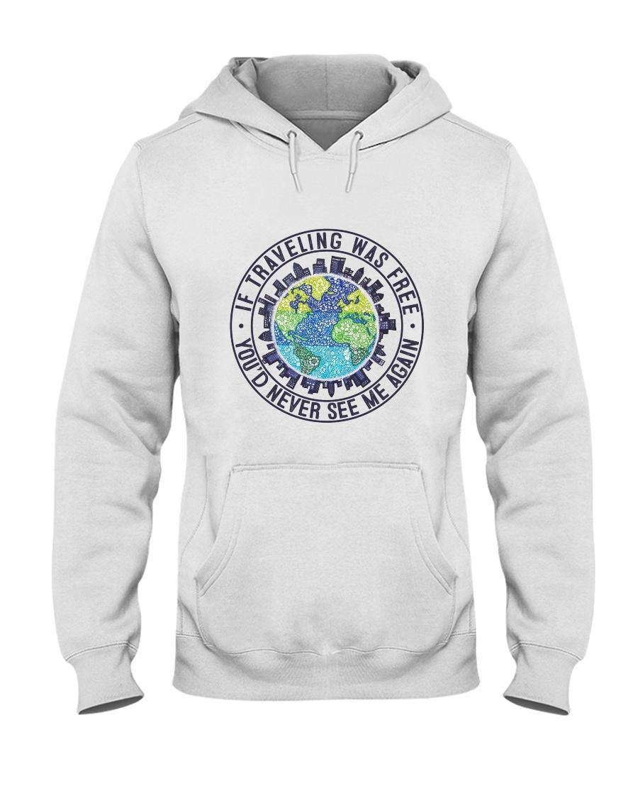 If Traveling Was Freedom Hooded Sweatshirt