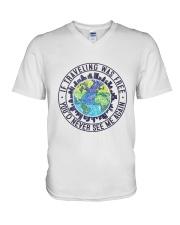 If Traveling Was Freedom V-Neck T-Shirt thumbnail