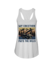 My Erection Pays The Bills Ladies Flowy Tank thumbnail