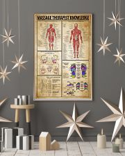 Massage Therapist Knowledge 11x17 Poster lifestyle-holiday-poster-1