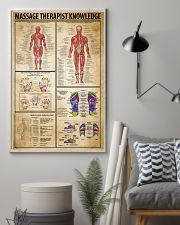 Massage Therapist Knowledge 11x17 Poster lifestyle-poster-1