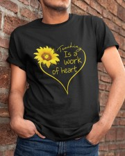 Teaching Is A Work Of Heart Classic T-Shirt apparel-classic-tshirt-lifestyle-26